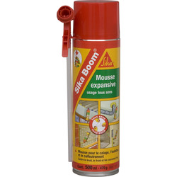 SIKA Mousse PU Sika Boom Usage tous sens 500ml Beige - 63640 - de Toolstation