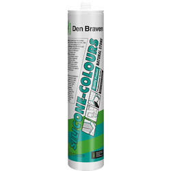 Zwaluw Mastic silicone neutre Zwaluw Colours+NS 310ml blanc - 64248 - de Toolstation