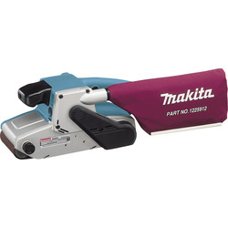 Makita Ponceuse à bande Makita 1010W 100x610mm - 64254 - de Toolstation