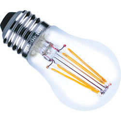 Integral LED Ampoule à filament globe Integral LED E27 4W 470lm 2700K - 68319 - de Toolstation