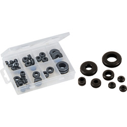 Silverline Joints passe-fils assortis 35 pcs - 68673 - de Toolstation