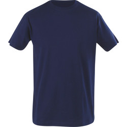 Cerva T-shirt Teesta Marine XL - 69052 - de Toolstation