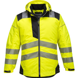 Portwest Parka Hi-Vis Portwest PW3 L jaune - 70176 - de Toolstation
