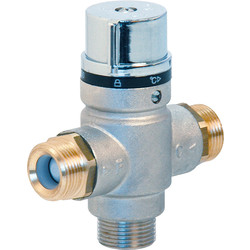 Somatherm industrie Limiteur thermostatique réglable de 35 à 50°C M20x27 - 73368 - de Toolstation