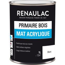 Primaire bois Renaulac mat acrylique