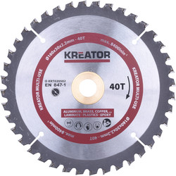 Kreator Lame de scie bois universelle HM 160x30mm 40T - 74363 - de Toolstation