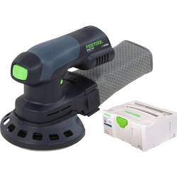 Festool Ponceuse excentrique sans fil Festool ETSC 125 Li-Basic 18V Li-ion - 76593 - de Toolstation