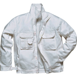 Portwest Blouson de peintre Portwest M blanc - 76619 - de Toolstation