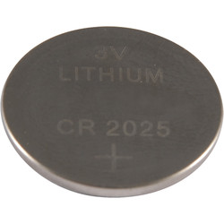 Pile bouton lithium CR2025 - 77230 - de Toolstation