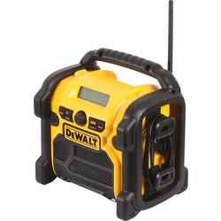 DeWALT Radio de chantier DeWalt DCR019-QW FM/AM 10,8-14,4-18V Li-ion - 77952 - de Toolstation