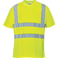 Portwest T-shirt Hi-Vis Portwest M jaune - 78692 - de Toolstation