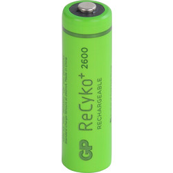 GP Piles rechargeables GP AA 2600mAh - 78957 - de Toolstation