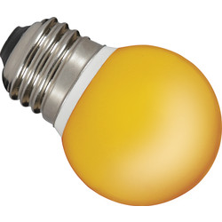 Sylvania Ampoule globe colorée LED Sylvania E27 0,5W orange - 81607 - de Toolstation