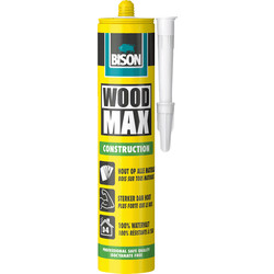 Bison Colle de montage bois Bison Wood Max 380g - 81804 - de Toolstation