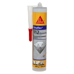 SIKA Mastic colle multi-usages Sikaflex Crystal 300g Transparent - 83575 - de Toolstation