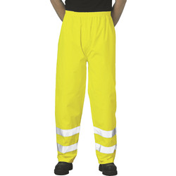 Portwest Pantalon de travail Hi-Vis Portwest Traffic L jaune - 83583 - de Toolstation