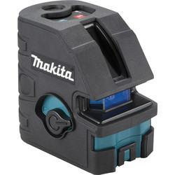 makita Laser 2 lignes rouge Makita SK104Z 15m - 86109 - de Toolstation