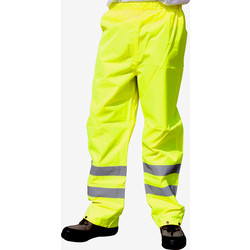 Portwest Pantalon de travail Hi-Vis Portwest Traffic S jaune - 86777 - de Toolstation