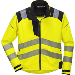Portwest Veste Hi-Vis Portwest Softshell PW3 L jaune - 87083 - de Toolstation