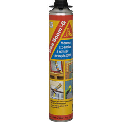SIKA Mousse PU Sika Boom G 750ml - 87844 - de Toolstation
