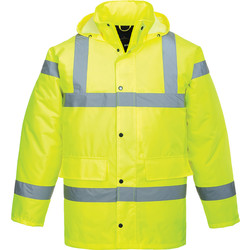 Portwest Parka Haute Visibilité Portwest Traffic S jaune - 90168 - de Toolstation