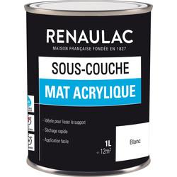Sous-couche Renaulac mat acrylique