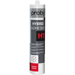 Proby Mastic colle hybride H1 Blanc 290ml - 91331 - de Toolstation