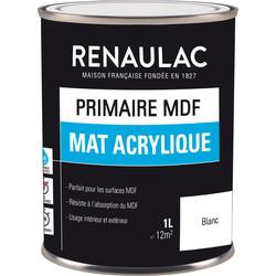 Primaire MDF Renaulac mat acrylique