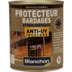 Blanchon Protecteur bardages Blanchon anti-UV 1L Incolore - 92684 - de Toolstation