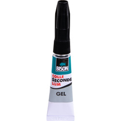Bison Super glue gel Bison 3g - 94229 - de Toolstation