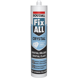 Soudal Mastic Soudal Fix All Cristal transparent 290ml - 97773 - de Toolstation