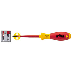 Wiha Tournevis VDE Wiha Slimfix PH1x80mm - 97964 - de Toolstation