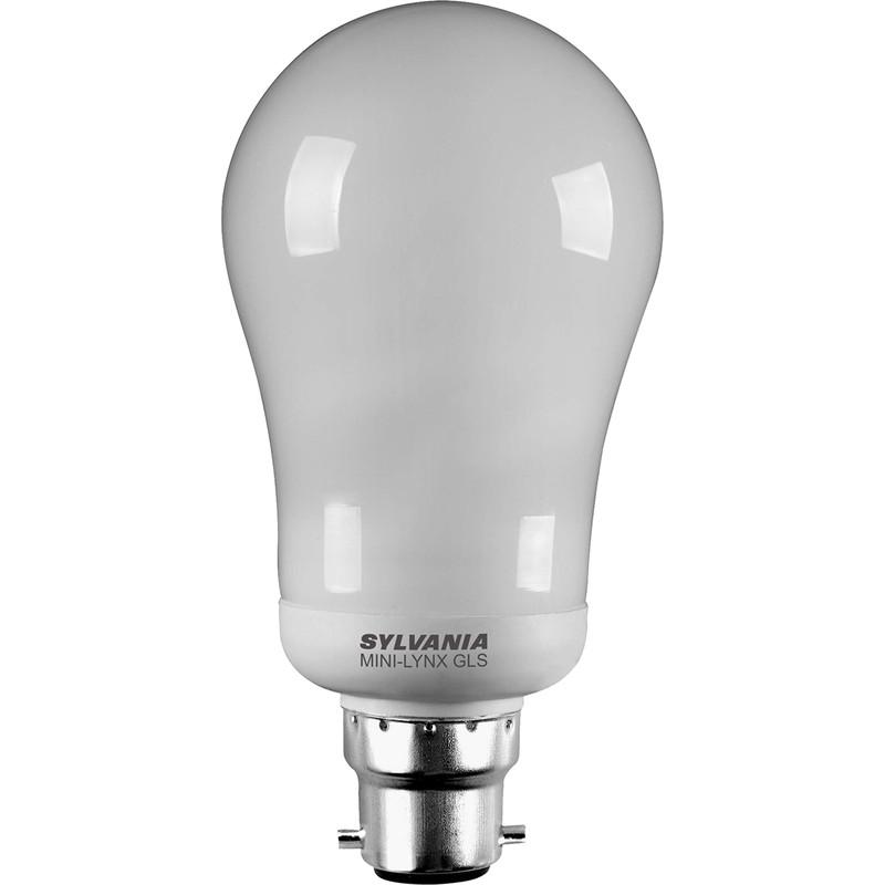ampoule standard sylvania eco b22 15w 820lm. Black Bedroom Furniture Sets. Home Design Ideas