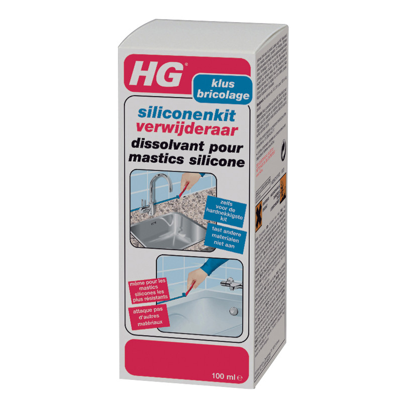 dissolvant pour mastics silicone hg 100ml. Black Bedroom Furniture Sets. Home Design Ideas