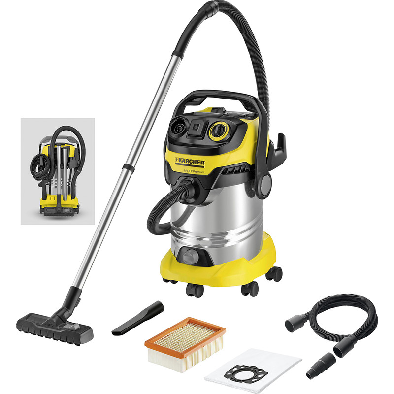 aspirateur eau et poussi re karcher p wd6. Black Bedroom Furniture Sets. Home Design Ideas