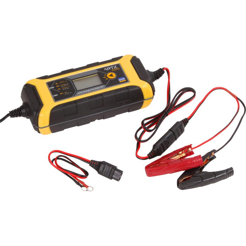 Jeune Chargeur de batteries automatique GYS ARTIC 4000 |Toolstation PW-87