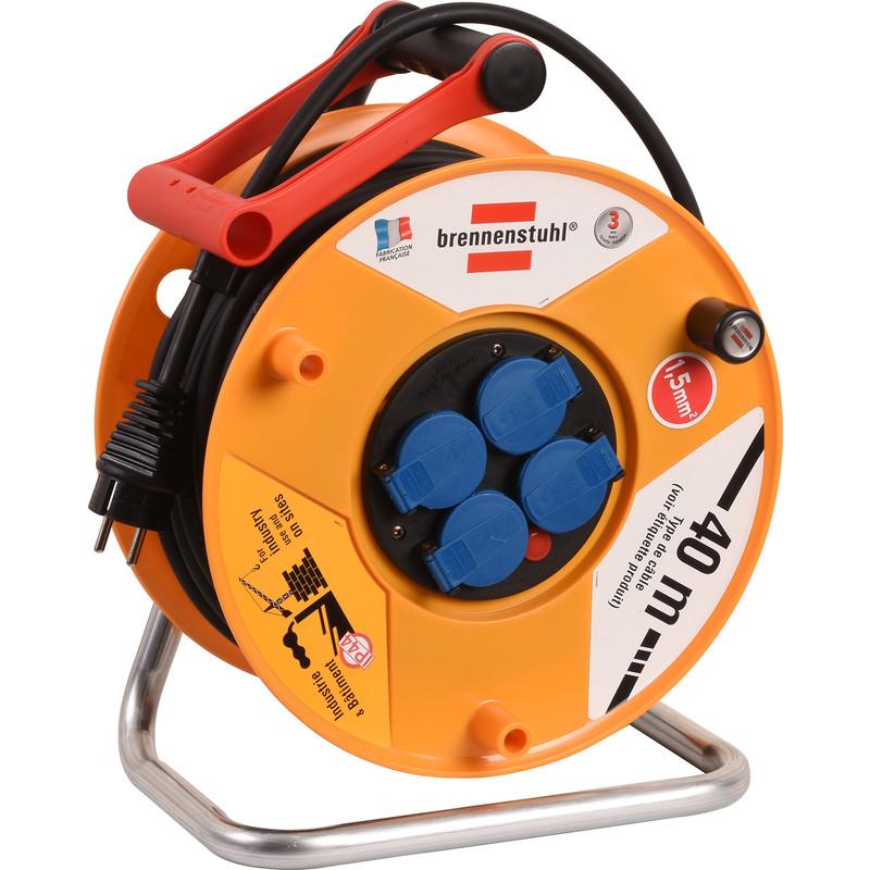 Enrouleur de câble électrique Brennenstuhl Standard Pro