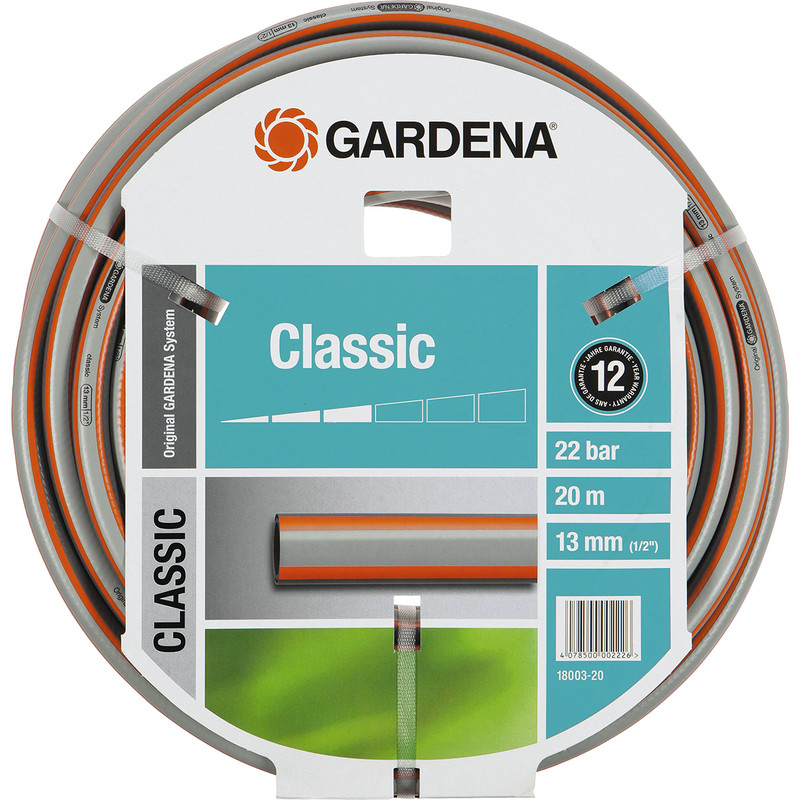 tuyau d 39 arrosage classic gardena toolstation. Black Bedroom Furniture Sets. Home Design Ideas