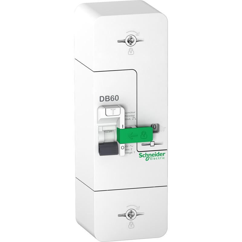 Disjoncteur de branchement Schneider Resi9 DB60