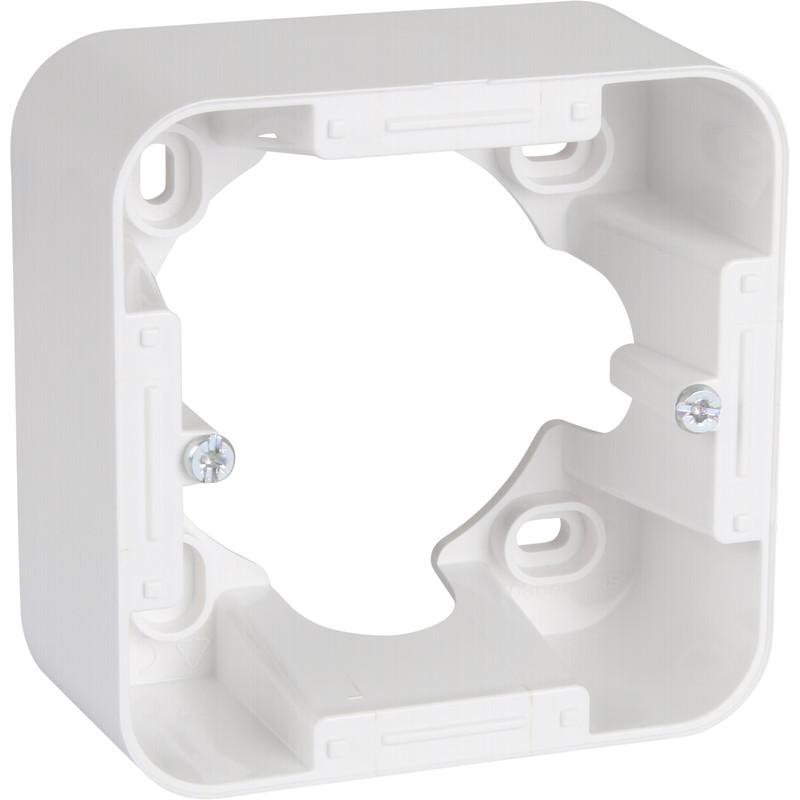 cadre saillie blanc schneider ovalis