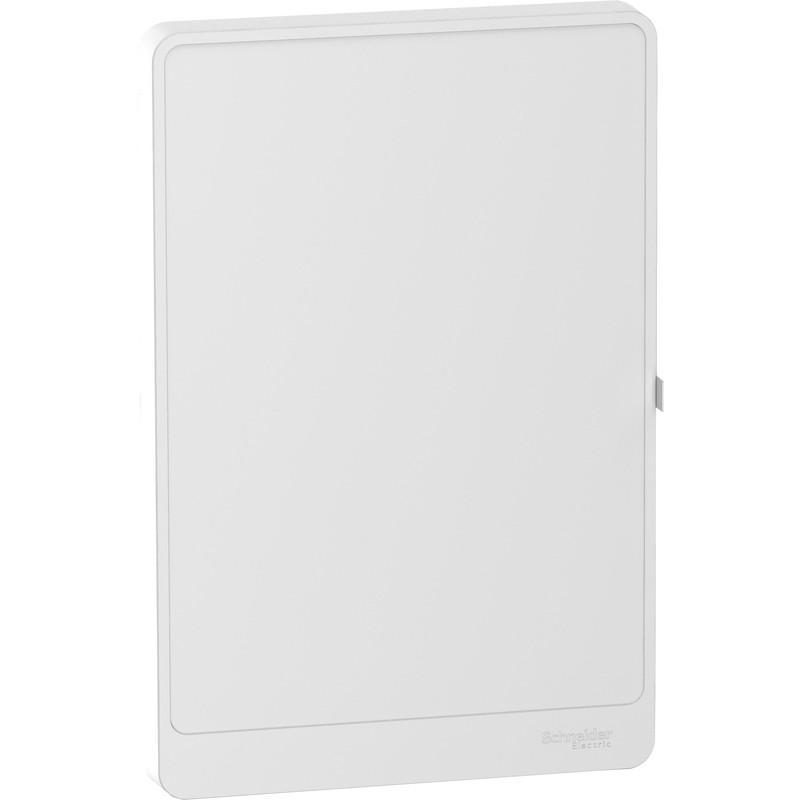 Porte opaque pour tableau électrique Schneider Resi9