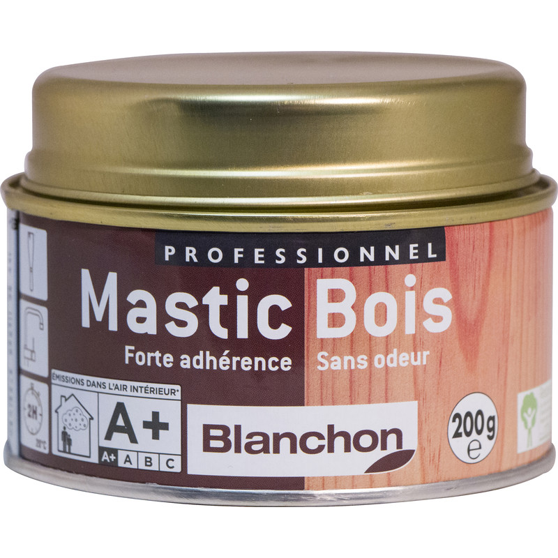 mastic bois blanchon 200g ch ne clair. Black Bedroom Furniture Sets. Home Design Ideas