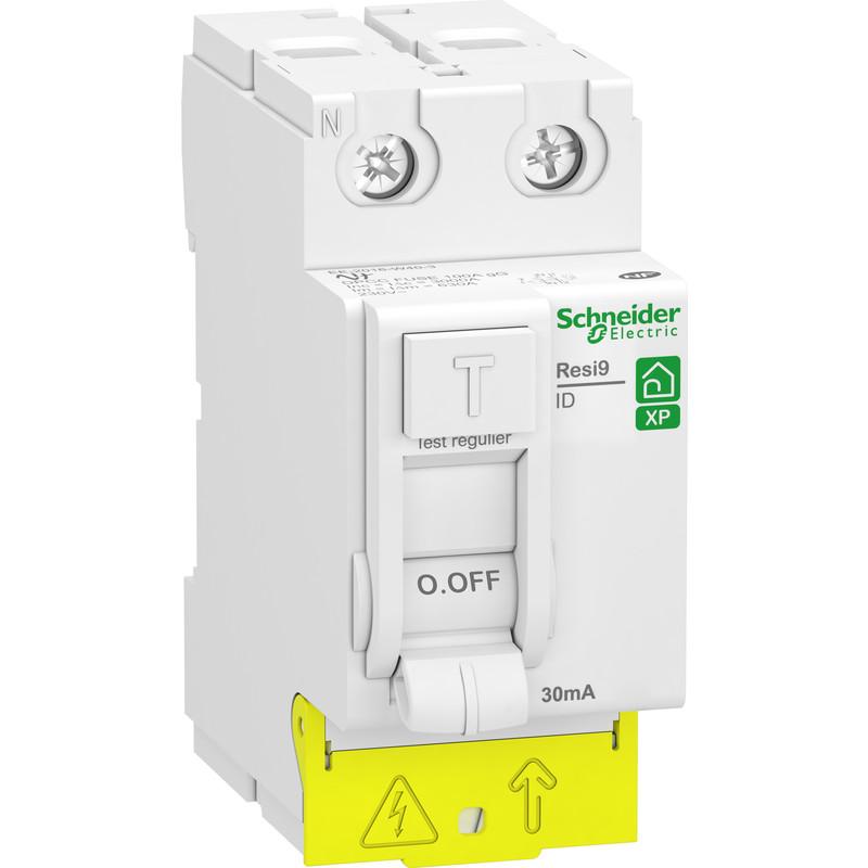 Interrupteur différentiel peignable Schneider Resi9 XP