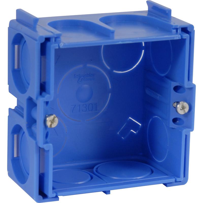 Boîte d'encastrement carrée à sceller Schneider Modulo